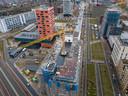 Op het Veemgebouw op Strijp-S in Eindhoven bouwt Trudo huurwoningen in de middeldure categorie.