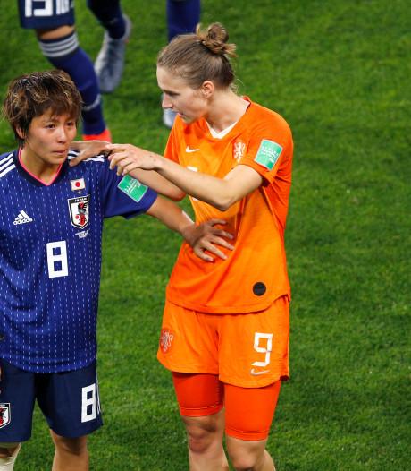 Miedema: 'Had het idee dat ze met 20 Japanners op het veld stonden'