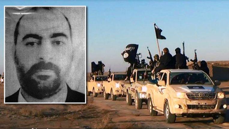 Leider Abu Bakr al-Baghdadi Beeld AFP