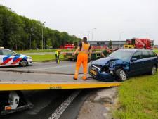 Flinke verkeershinder door aanrijding op Zutphensestraat N345 bij Apeldoorn