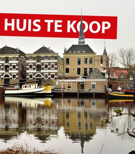 Droomhuis te koop in Gouda; oud kaaspakhuis aan de Vest: 'Alles is mogelijk'