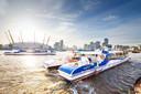 Uber Boat naar Greenwich.