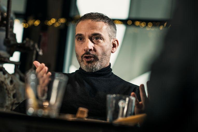 Bahattin Koçak: 'Ik zou niet weten wat er schimmig is aan studiebegeleiding, cultuur en interreligieuze dialoog.' Beeld Tim Coppens