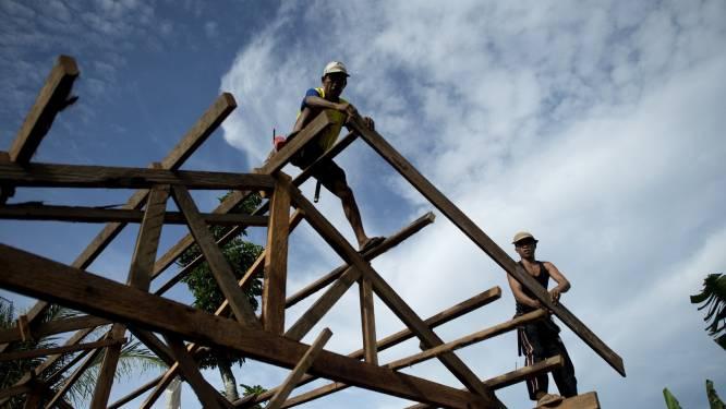 Balans hulpverlening jaar na tyfoon Haiyan positief