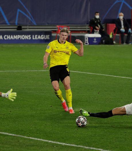 De Jong trefzeker voor Sevilla, maar Haaland steelt namens Dortmund de show