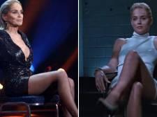 Sharon Stone rejoue la scène mythique de Basic Instinct