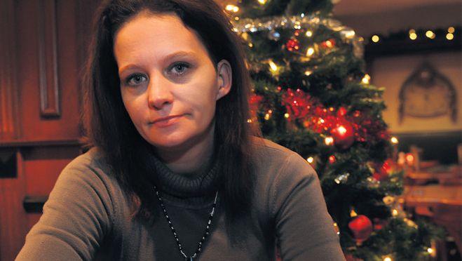 Maria Bons hoopt dat zij haar kinderen toch nog een goede kerst kan bezorgen.