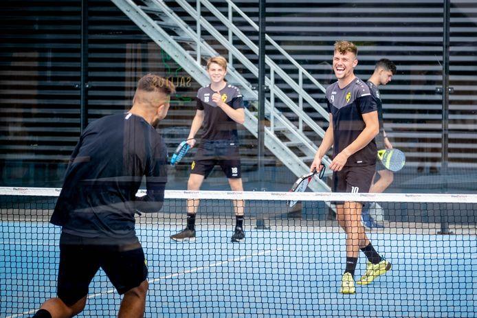 De spelers van Lierse Kempenzonen hielden een onderling padeltornooi in sportcentrum 't Sas.