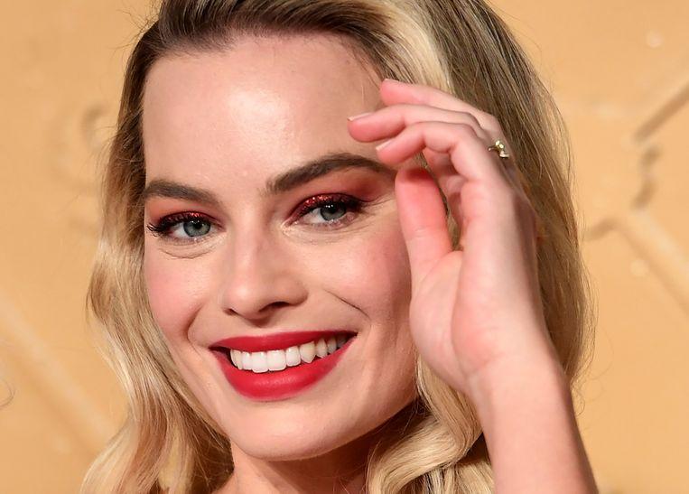Margot Robbie kruipt binnenkort in de huid van Barbie. Beeld EPA