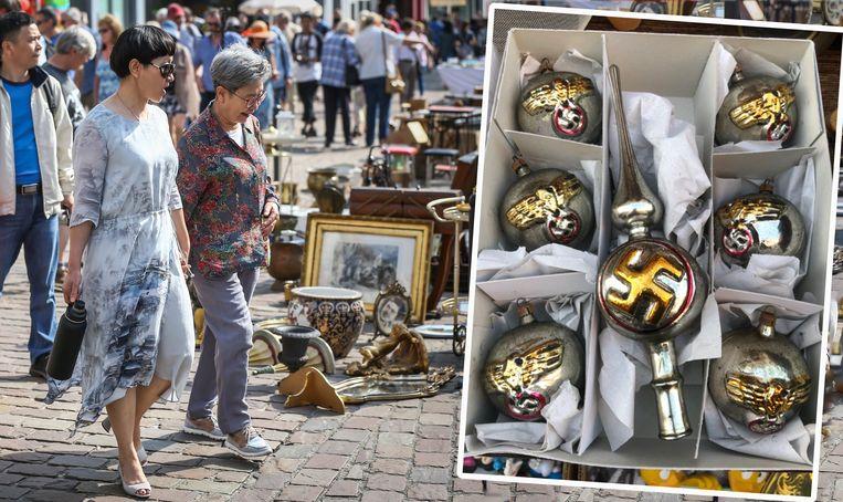 Te Koop Op Markt In Tongeren Nazikerstballen Binnenland Nieuws