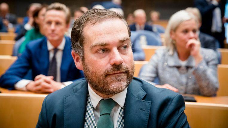 VVD-fractieleider Klaas Dijkhoff. Beeld anp