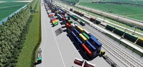 Treinen komen straks 'zeilend' naar de railterminal bij Valburg