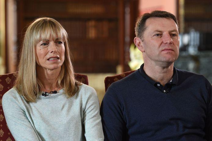 Kate en Gerry McCann, de ouders van Madeleine.