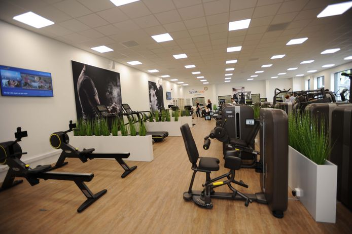 In de fitnessruimte staan de meest geavanceerde toestellen.