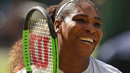 Serena Williams naar halve finale op Wimbledon - Del Potro na dag vertraging in kwartfinales