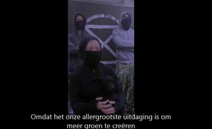 De opmerkelijke videoboodschap van XR.
