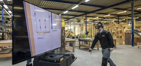 Opleiding met virtual reality: dansend bouwen op school in Almelo