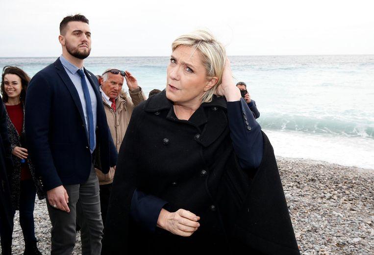 Marine Le Pen. Beeld EPA