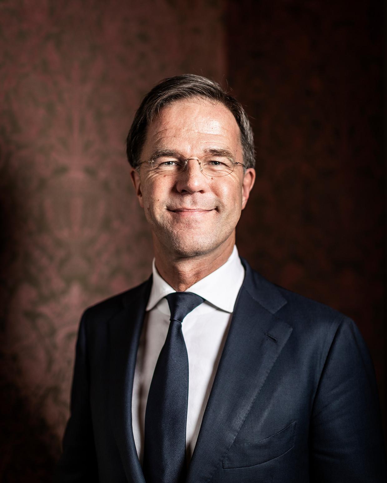 Mark Rutte: 'Als ik nu nog dingen uit politieke noodzaak doe, zou het wel heel arm zijn.' Beeld Jiri Büller