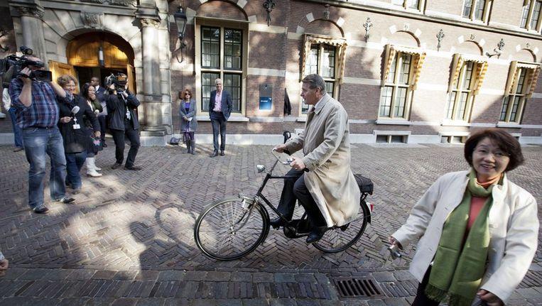 Minister Donner komt aan op het Binnenhof. Beeld anp