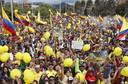 Ook in Zipaquirá, de woonplaats van Egan Bernal, was het groot feest.