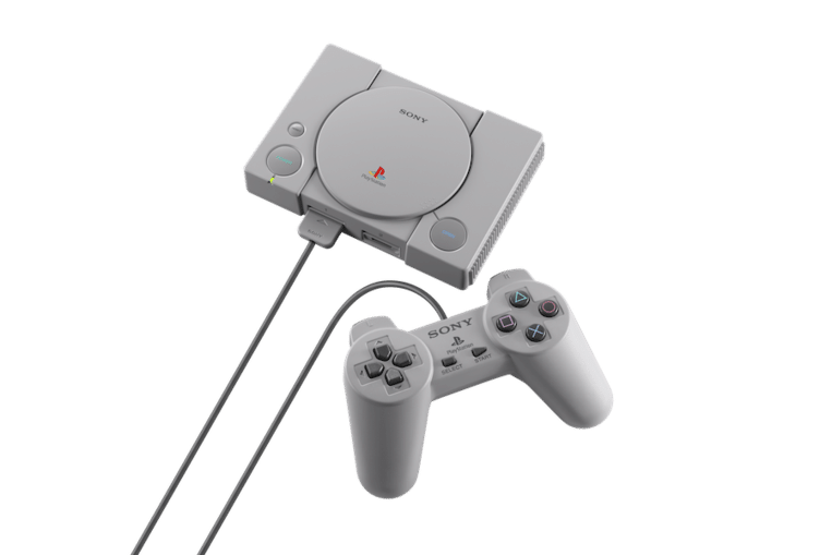 De PlayStation Classic. Beeld Sony PlayStation