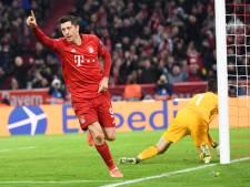 Flick en Lewandowski loodsen Bayern naar achtste finales