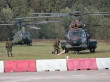 Commandowissel met militair vertoon op Ridderplein Gemert
