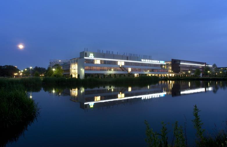 Gebouw Gaia van Wageningen Universiteit.