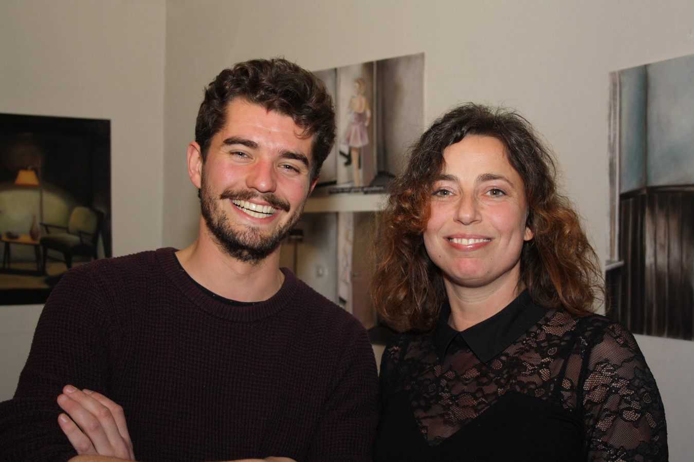 Chef Volmolen Diederik la Verge en Ilana Sandelowsky, zakelijk leider van de Cultuurbrigade.