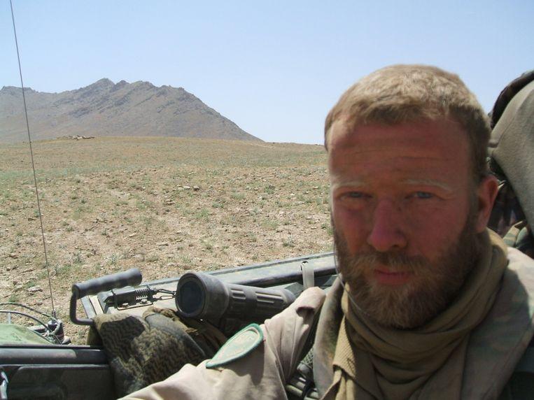 Militair Servie Hölzken in 2007 in de Afghaanse provincie Uruzgan. Beeld Trouw