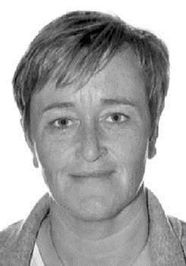 De vermoorde gevangenisverpleegster Christine Lenaerts (45). Beeld Federale Politie