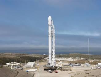 Lancering van Falcon-9 draagraket afgebroken tijdens aftelling