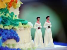 'Homohuwelijk' is in deze regio, ook in Dordt, minder populair dan gemiddeld