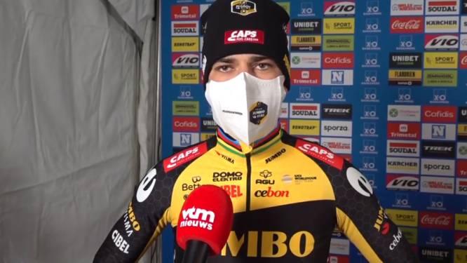"""Wout van Aert na Baal: """"Toen Mathieu doortrok, maakte ik te veel fouten"""""""