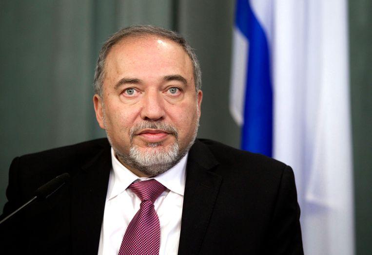 Avigdor Lieberman. Beeld AP