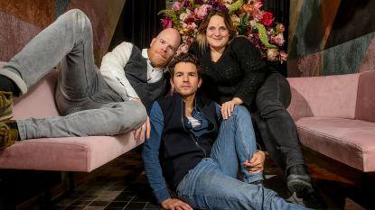 """Bruno Vanden Broecke, Matteo Simoni en Ruth Beeckmans hielden triootje: """"De film begon als souvenirtje voor onszelf"""""""