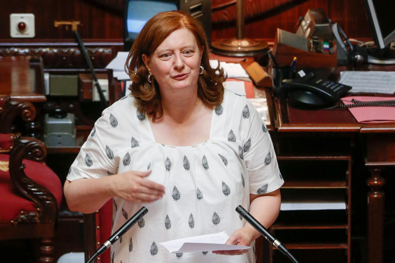 Fractievoorzitster Sabine de Bethune
