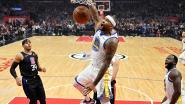 """VIDEO. """"I'm back"""": DeMarcus Cousins viert terugkeer bij Warriors met dunk en klinkende zege"""