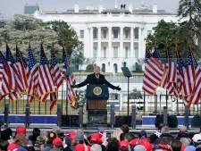 De speech waarmee Trump zijn aanhangers opruide: 'We zullen de diefstal tegenhouden'