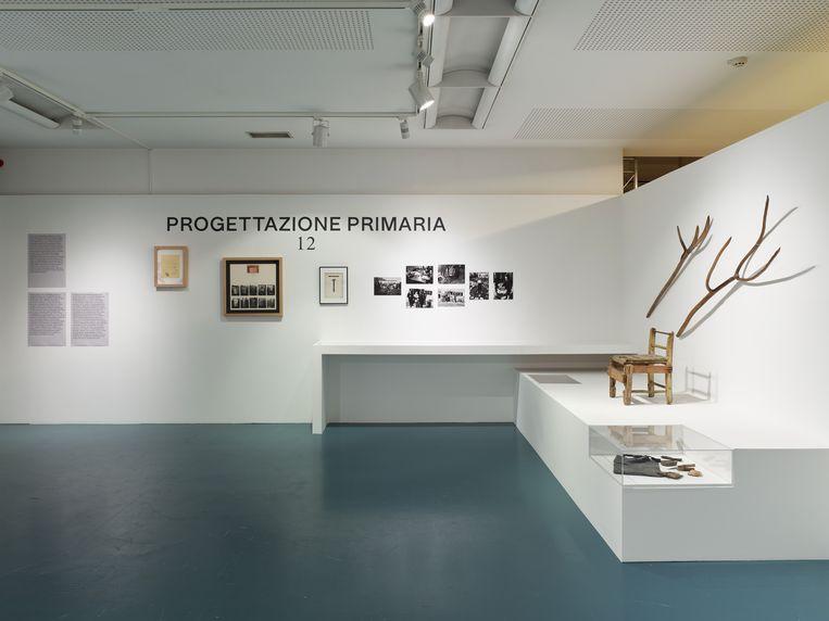 scenografie van de tentoonstelling Superstudio Beeld Kristien Daem