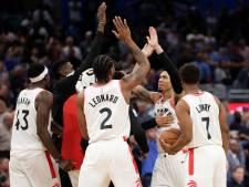 Toronto Raptors verstevigt koppositie in NBA