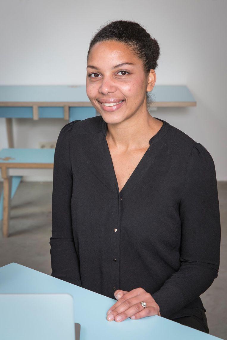Siona Landveld: 'Ik deel mijn werktijden zelf in' Beeld Dingena Mol