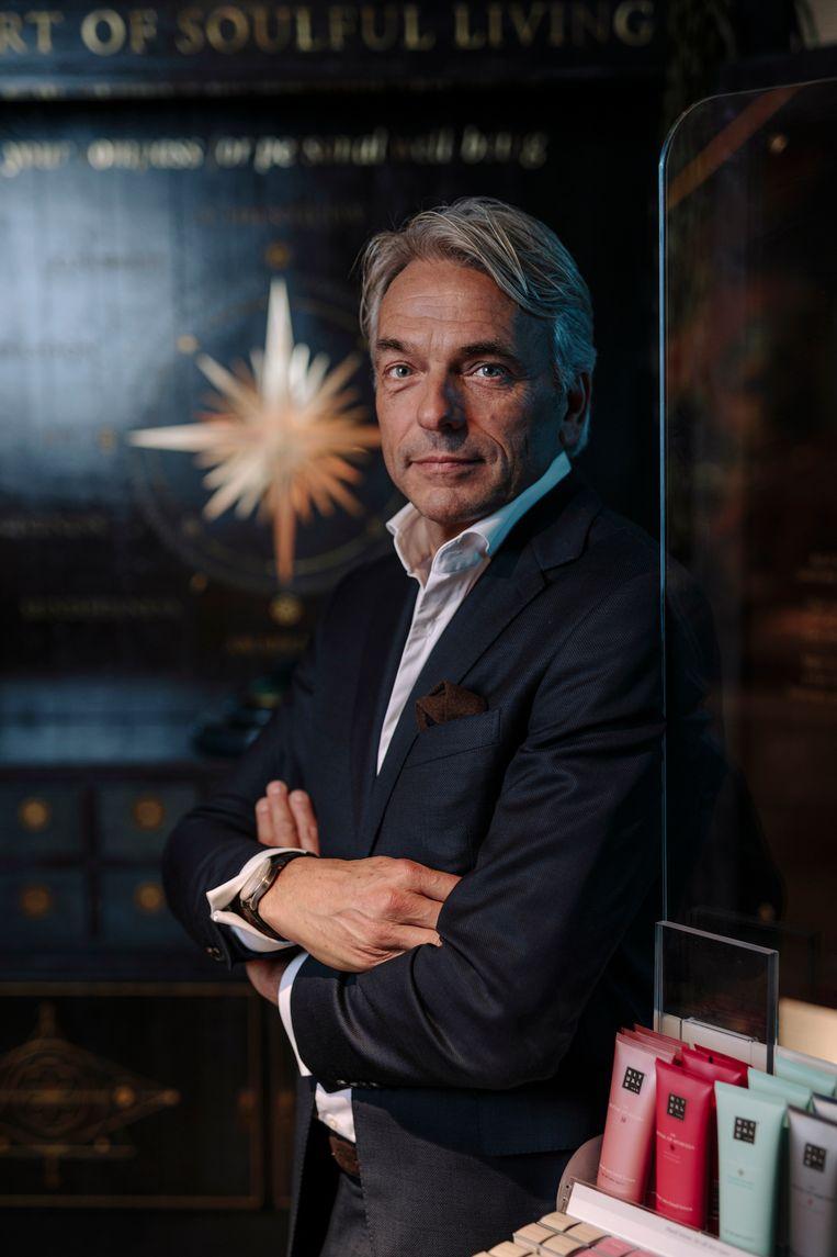 Amsterdam, 20-10-2020. Raymond Cloosterman, CEO en oprichter van Rituals. foto: Marc Driessen Beeld Marc Driessen