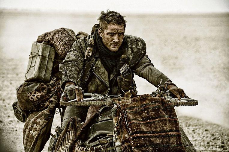 Tom Hardy in Mad Max: Fury Road. Beeld
