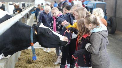 283 schoolkinderen op bezoek bij landbouwer