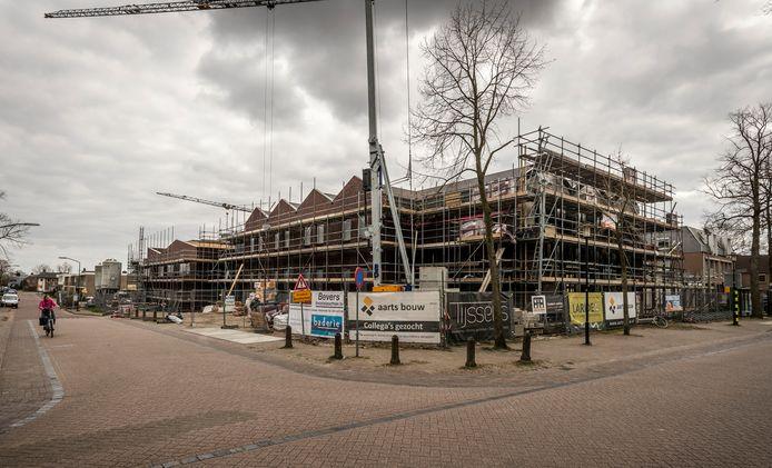 In Leende is de nieuwbouw van een multifunctionele accommodatie volop aan de gang.