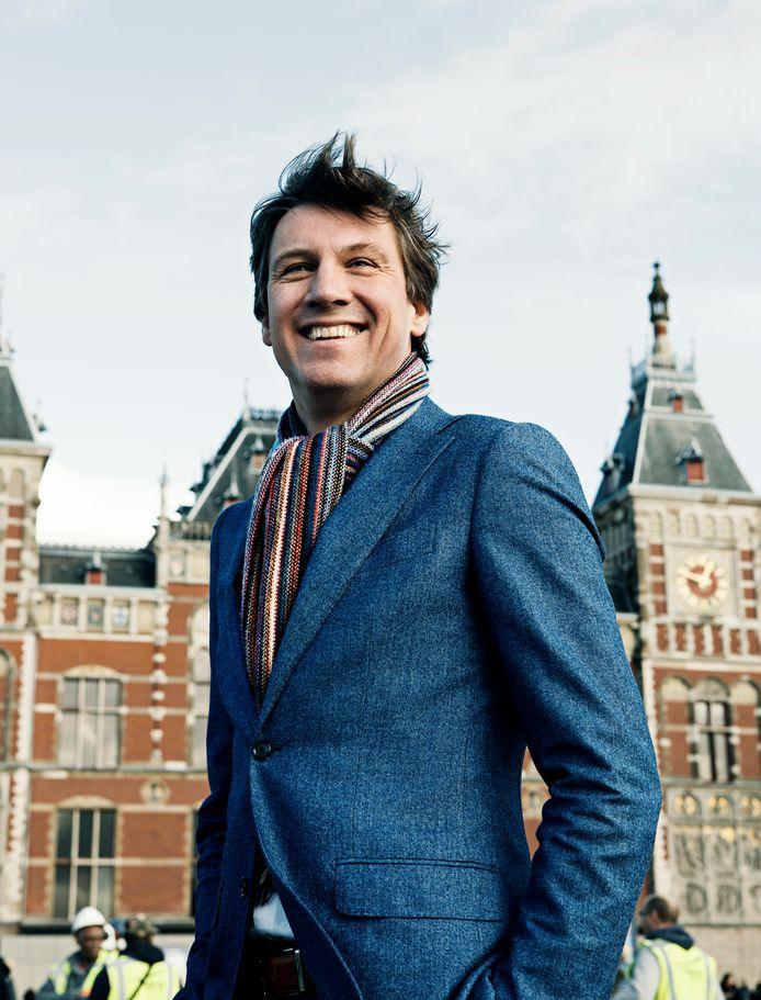 Pieter Litjens, verkeerswethouder van de VVD in Amsterdam.
