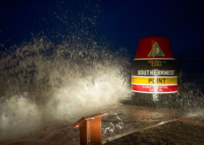 Het zuidelijkste puntje van de VS in Key West, Florida. Archiefbeeld.