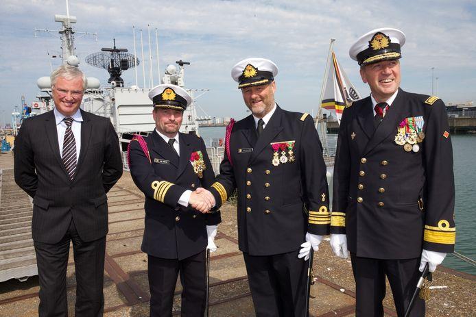 Michel Hofman, ici en 2013, tout à droite sur la photo.